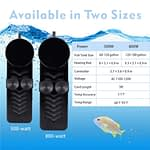 two-size-betta fish heater