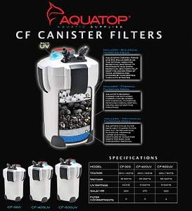 Aquatop CF Series Aquarium Filter